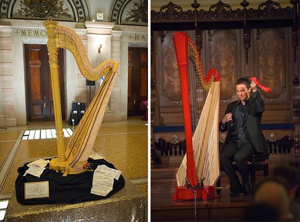 Lyon & Healy Celebrated 150TH Birthday with Harp Cake - Lyon & Healy ...