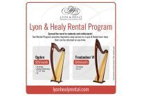 Lyon & Healy introduces Rental Program