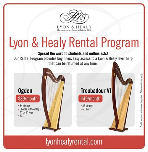 Lyon & Healy introduces Rental Program - Lyon & Healy Harps