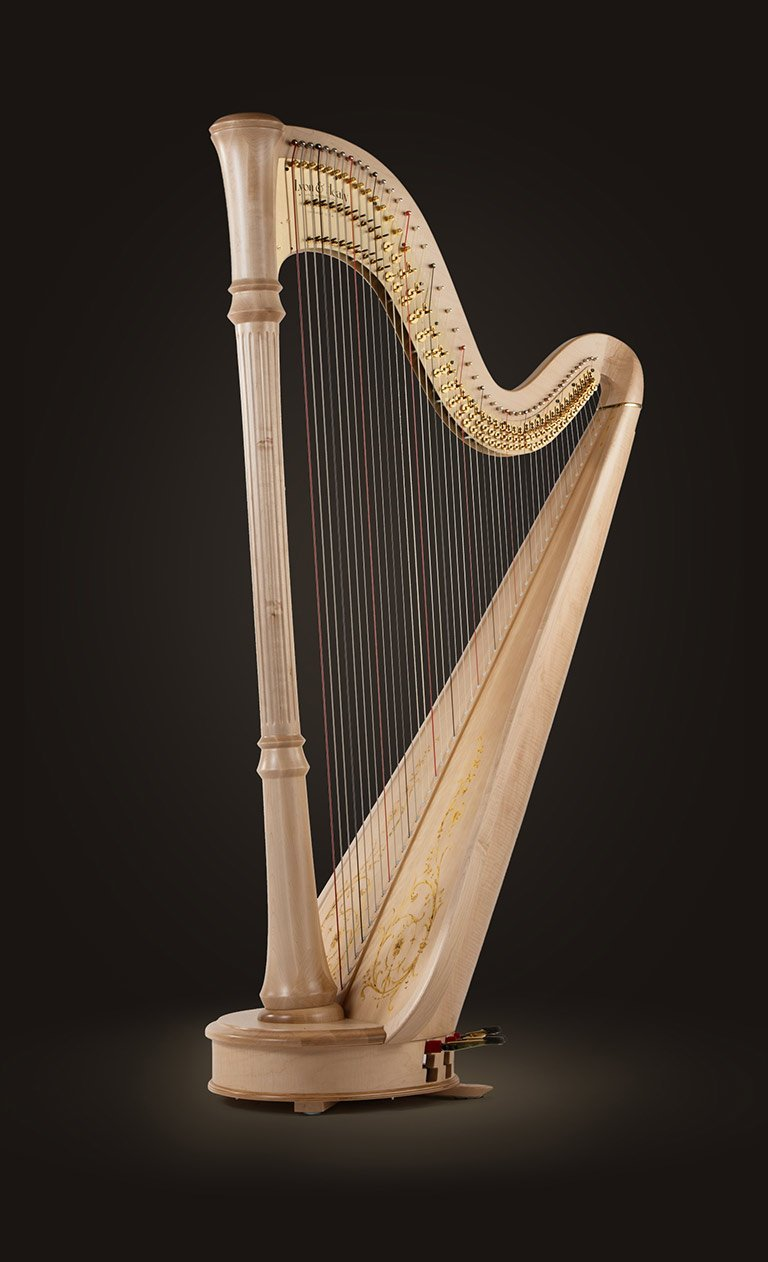 Style 85 Cg Professional Pedal Harps Lyon Amp Healy Harps
