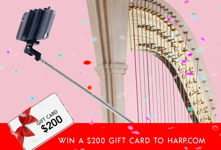 Win a $200 gift card to Harp.com