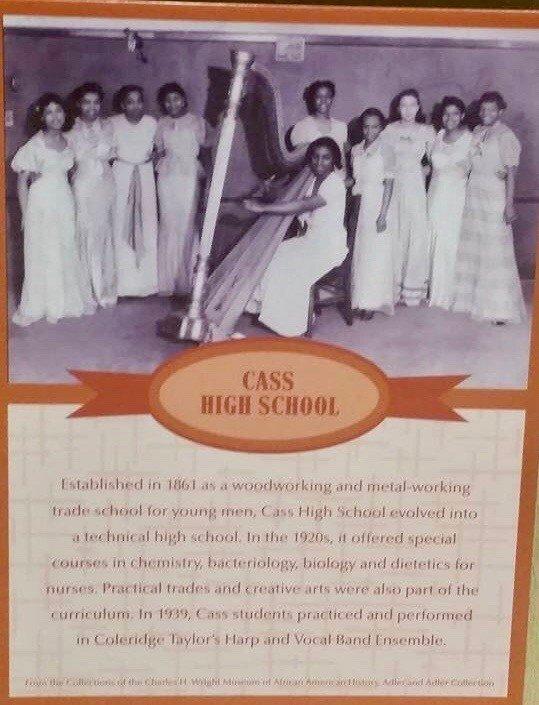 LYDIA CLEAVER – DETROIT, MI Director, Cass Tech Harp Program