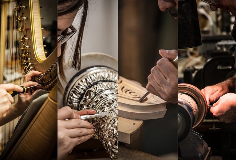 Return to Harpmaking & Appointment Info